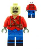Eddie The Trooper (Iron Maiden) Single Cover Mascot - Custom Designed Minifigure